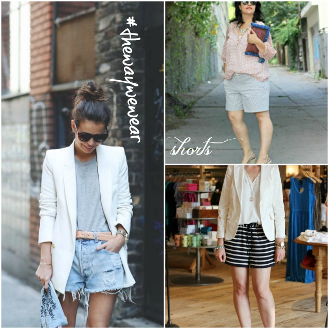 the way we wear shorts, how to style shorts