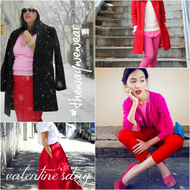 thewaywewear, valentine's day outfit ideas, what to wear for Valentine's day