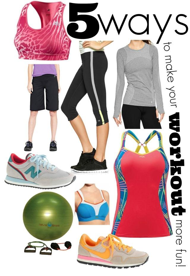 5 ways to make your workout more enjoyable, make fitness fun