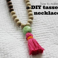 DIY Try: How to make a Tassel Necklace