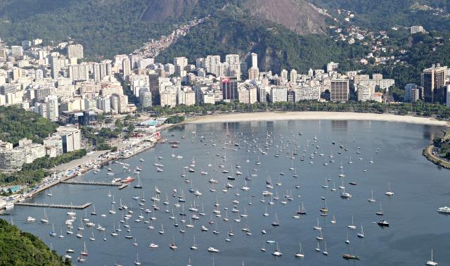 rio view from sugar loaf, day tour of rio de janeiro