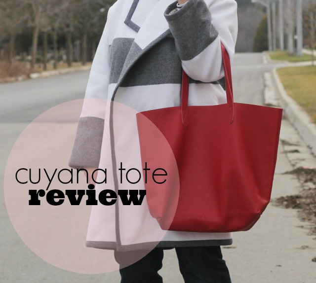 cuyana tote review