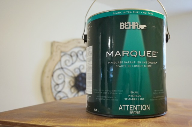 Behr designing my way bathroom update chic everywhere - Behr marquee exterior paint reviews ...