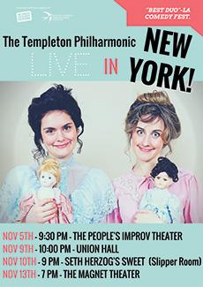 The Templeton Philharmonic – New York Tour