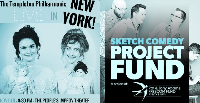 The 2015 Sketch Comedy Project Fund - The Toronto Sketch