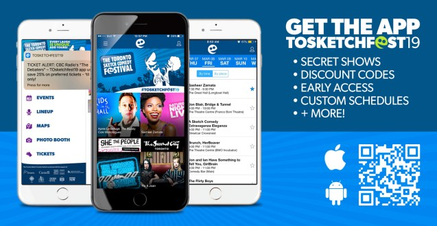 Download the TOsketchfest19 Mobile App!