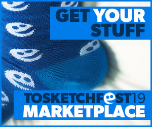 Visti the TOsketchfest Marketplace Online