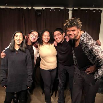 Fusion Comedy group photo