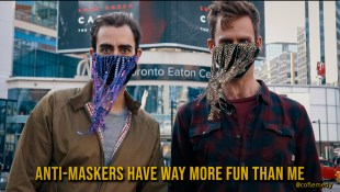 Anti-Maskers Have Way More Fun Than Me by CoFlemedy