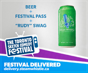 TOsketchfest Delivered: Beer + Pass + Rudy Swag