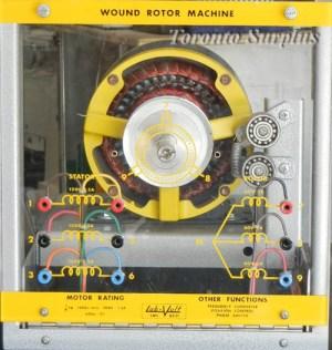 LabVolt  LabVolt 8231 Wound Rotor Machine  Frequency