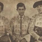 Vistalegre 1957:Juan Coello, Joselito de la Cruz y Morenito de Talavera