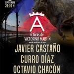 Victorino Martín lidiará por primera vez en Priego de Córdoba