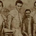 1947:ANDALUZ, LUIS MIGUEL Y PARRITA EN ZARAGOZA