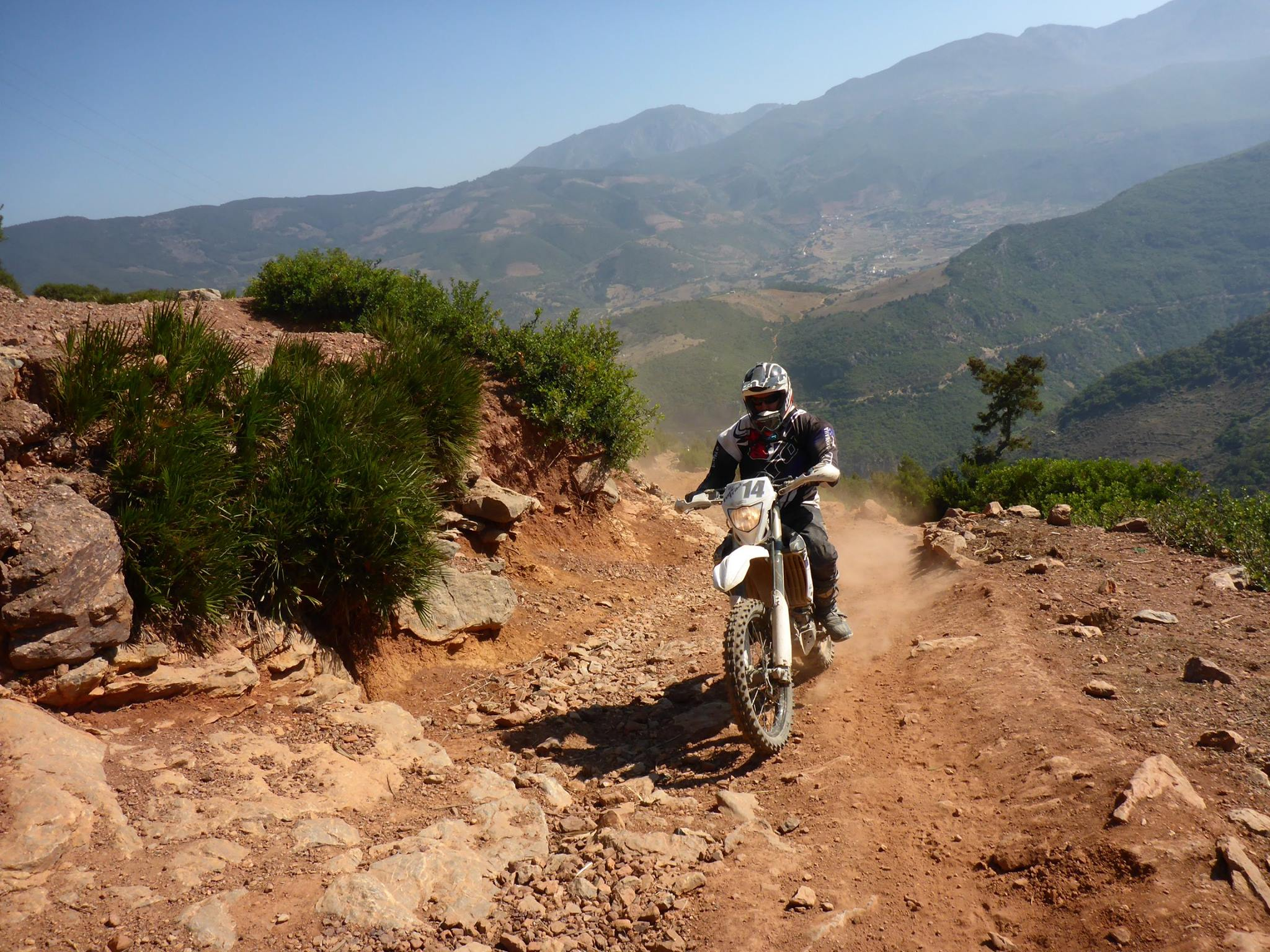 Off-Road motorcycle holidays in Spain
