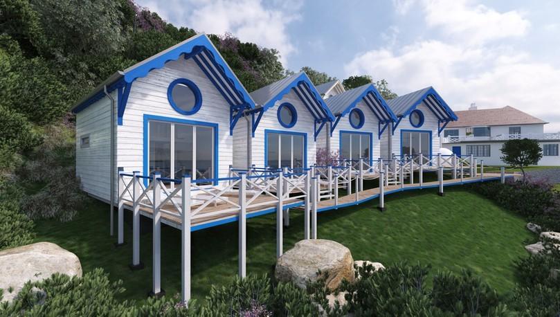 Beach Huts Torquay