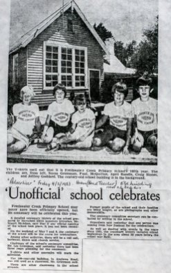 news Unofficial school celebrates