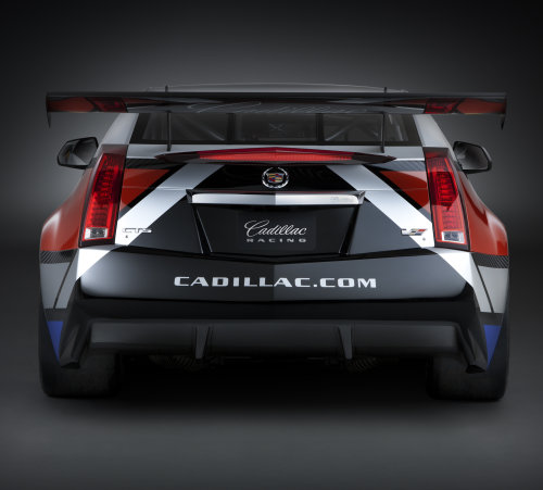 The Rear End Of The 2011 Cadillac Cts V Coupe Race Car