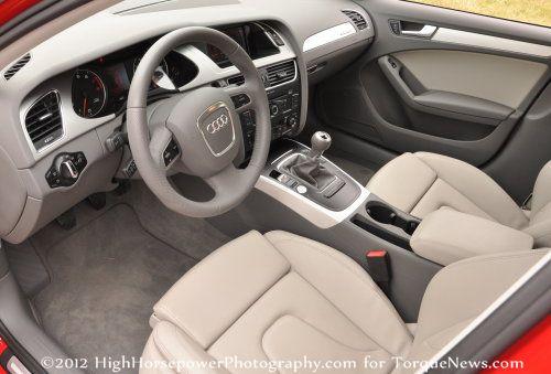 The Interior Of The 2012 Audi A4 Premium Plus Torque News