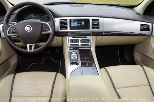 The Dash Of The 2012 Jaguar XF Supercharged Torque News