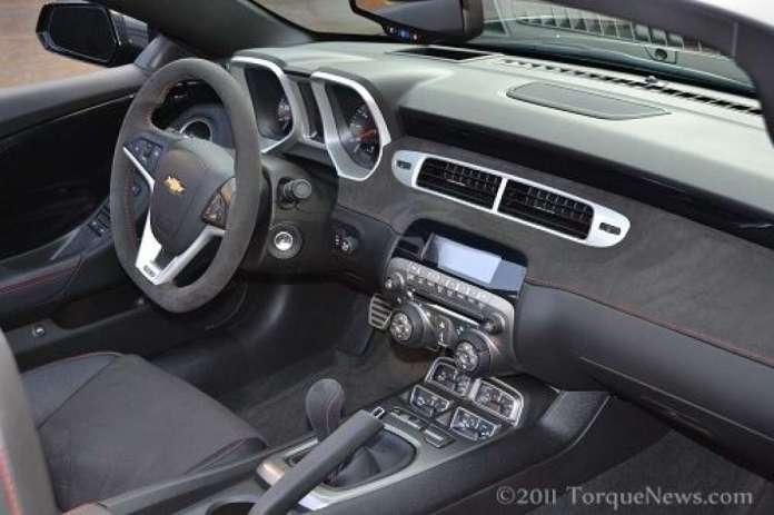 The Interior Of The New 2012 Chevrolet Camaro Zl1 Convertible Torque News