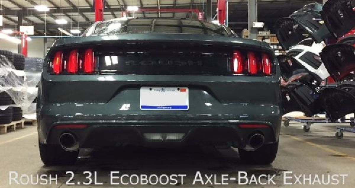 2015 ford mustang ecoboost with roush