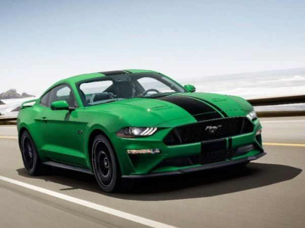Ford Mustang Beats Dodge Challenger in a Strong May   Torque News 2019 Ford Mustang GT in Need for Green