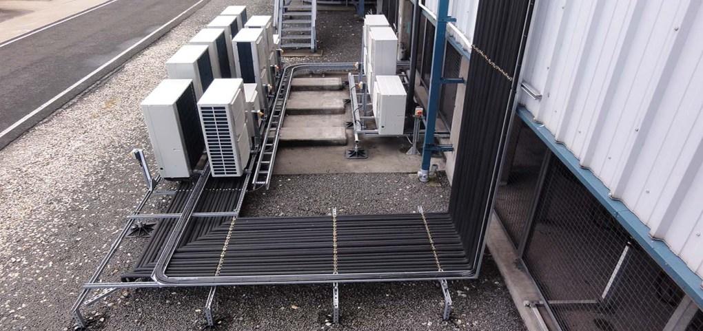 Vitol Power International air conditioning installation by Torr Engineering