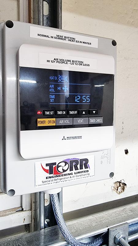 Swinton Band ventilation remote control
