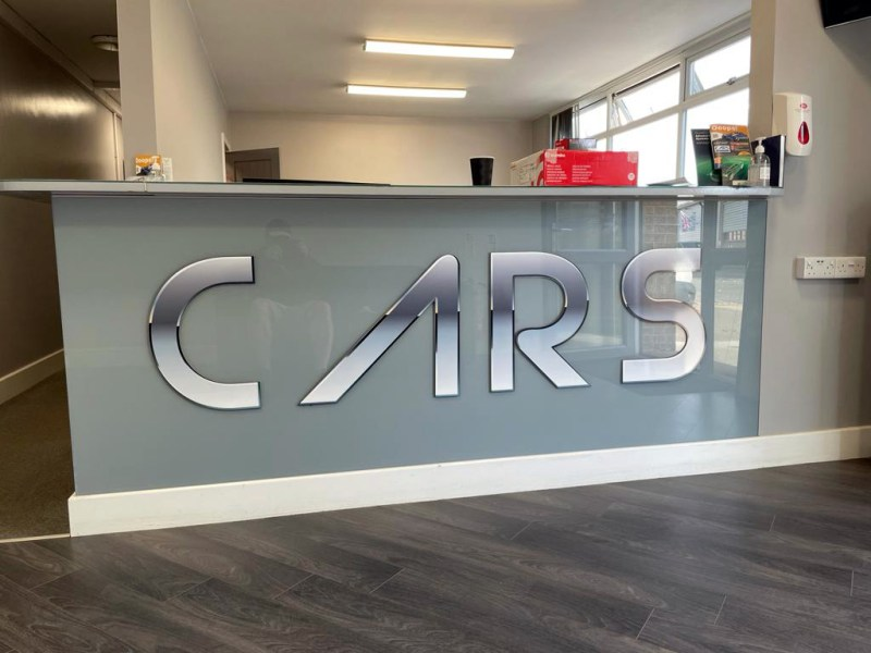 CARS of Grimsby Reception Area