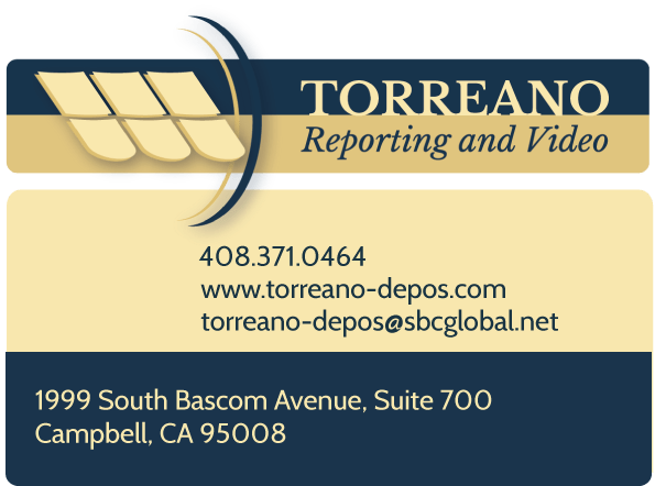contact_torreano-depos oakland san francisco san jose
