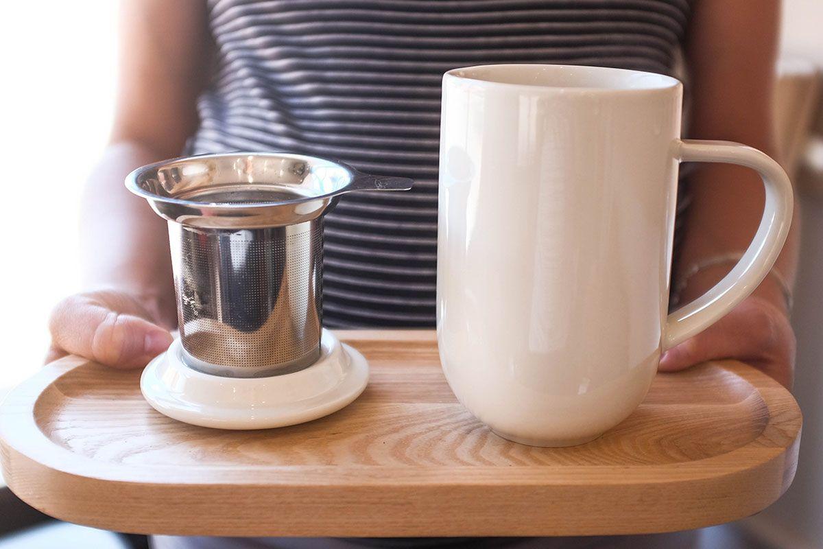 mug avec infuseur et couvercle 45 cl