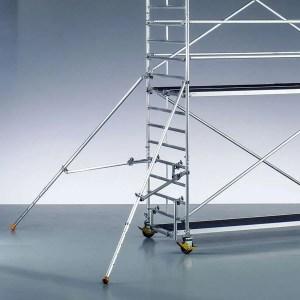 Estabilizadores extensibles para andamio de aluminio