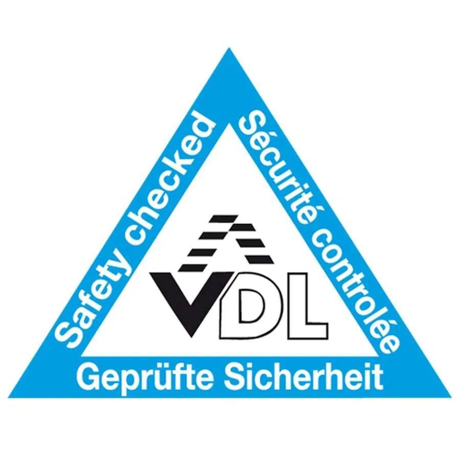 Logotipo VDL de seguridad controlada