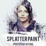 GraphicRiver – Splatter Paint Photoshop Action