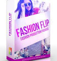 Pixel film studios fashion flip fashion theme for fcpx icon