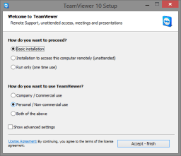 TeamViewer Installer - Remote Assistance for TorrentRover