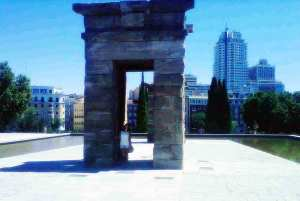the temple of debod madrid