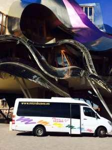 sewa microbus vip madrid transport