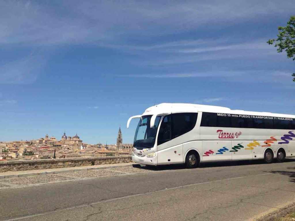 Sièges d'autobus 71 à Madrid