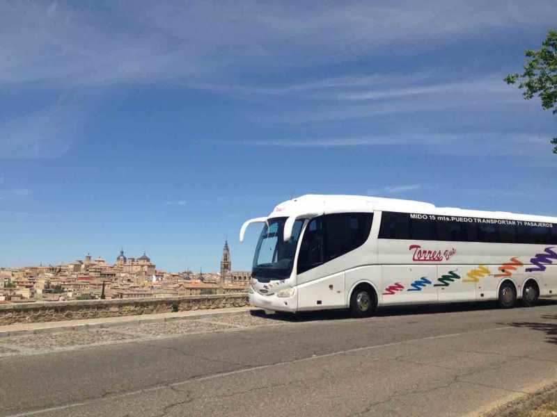 Alquiler autobuses 70 plazas
