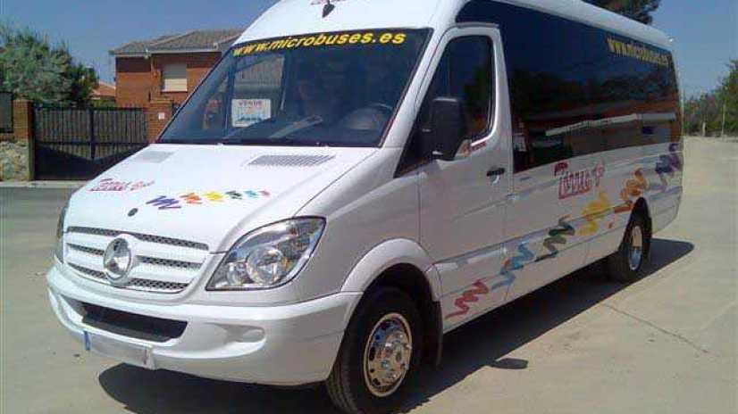 alquilar microbus madrid