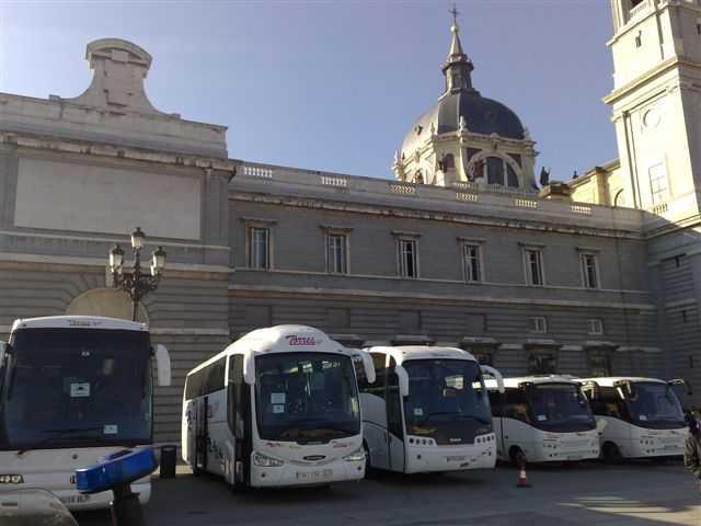 alquiler de autocar en madrid