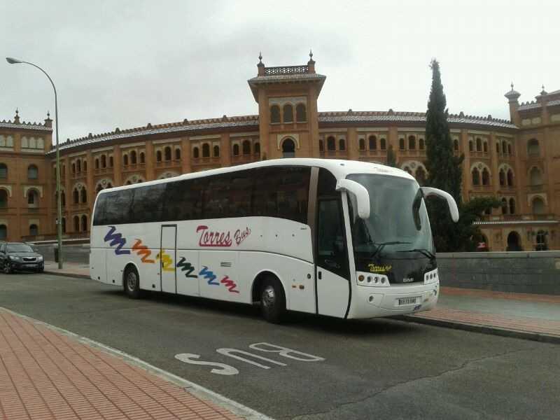 Alquiler de autocar de 50 - 54 - 63 y 70 plazas en Madrid