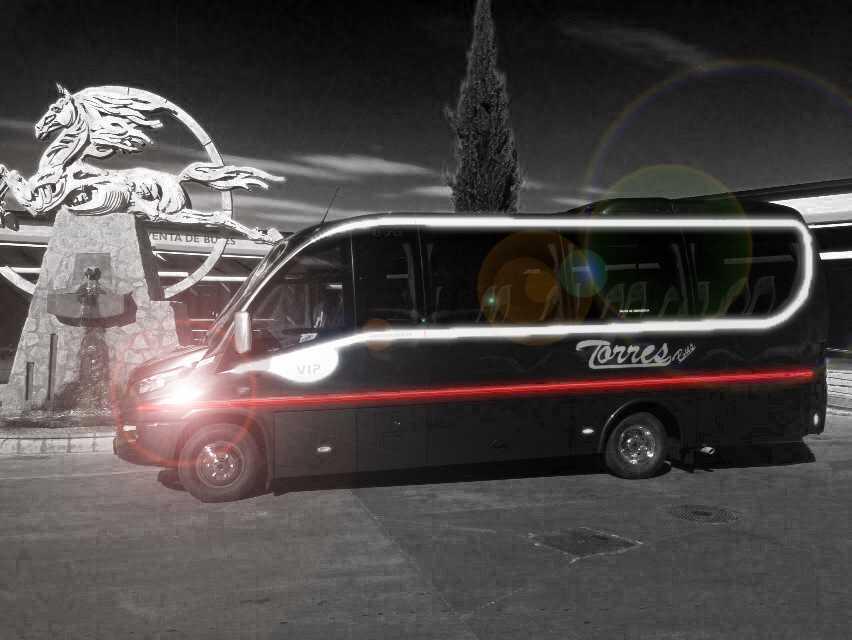 Alquiler autobús 30 plazas: cuánto cuesta - minibus de lujo