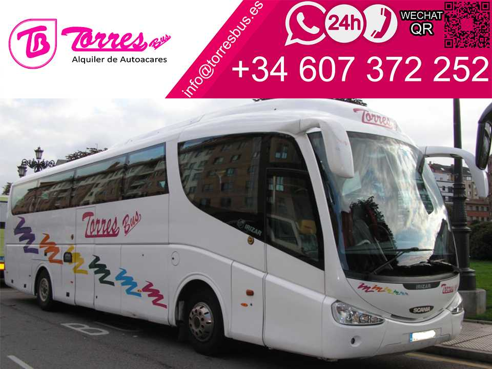 location de bus 54 plazas madrid compagnie de bus
