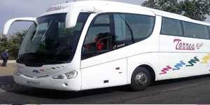 coach rental 54 plazas madrid coach rental company