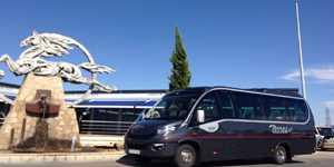 alquiler minibus vip 24 plazas madrid empresa de autobuses y minibuses