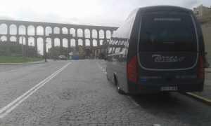 Vermietung von Kleinbussen von 25-Sitzen in Madrid VIP