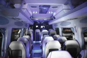 Interior Mercedes Sprinter Luxus